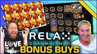 Best Bonus Buy Slots from Relax Gaming