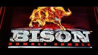 """""""LIVE PLAY""""  *Bison Rumble Rumble* free spins By Ainsworth"""