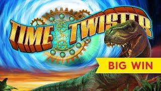 Time Twister Slot - $10 Bet - GREAT SESSION, ALL FEATURES!