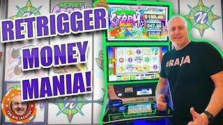 •HOLY FREE GAMES! •Money Storm Retriggers Like a MOFO! •