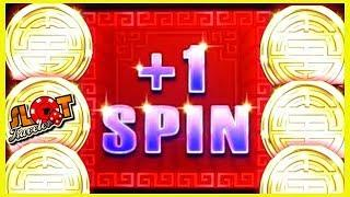 • ONE MORE SPIN! • Big Wins NEW GAME Rising Fortunes 2 Cent! | Slot Traveler