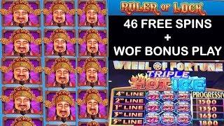 Ruler Of Luck 46 Free Spin Bonus + Wheel of Fortune - Spinning the wheel !