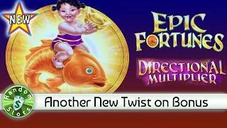 ⋆ Slots ⋆️ New -  Directional Multiplier Epic Fortunes slot machine Twist Bonus