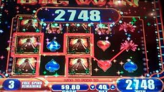 Jungle Wild III Slot Machine Bonus - 7 Free Games with Multiple Wild Reels - Nice Win