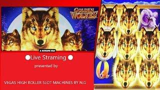 •Friday Live Day • Part 2• Wings Of The Phoenix Slot,Golden Wolves Slot LIVE Play