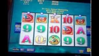 Aristocrat Whales of cash BIG WIN Dime denom Max bonus symbols