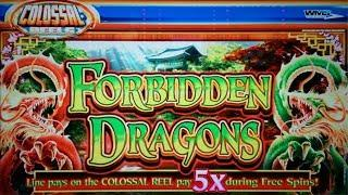 $100 IN - HOW MUCH OUT?  SUPER BIG WIN ON FORBIDDEN DRAGONS SLOT POKIE BONUSES - PECHANGA CASINO