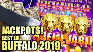 •BUFFALO JACKPOTS!!• BEST OF BUFFALO! 2019 YEAR END REWIND Slot Machine (Aristocrat)