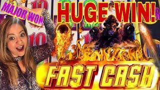 •HUGE BONUS WIN ON •BUFFALO DELUXE• •FAST CASH!•