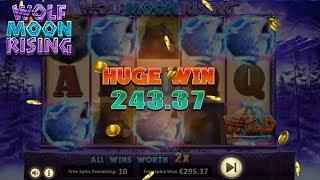 Wolf Moon Rising Online Slot from Betsoft