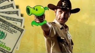 BIG WINS! Plants Vs. Walking Dead! A Showdown of Slot Machine Bonus Rounds!