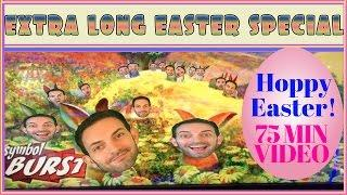 HOPPY EASTER - 75 Minutes of Slot Machine FUN! • SUNDAY FUNDAY • Slot Machine Pokies in Vegas+SoCal