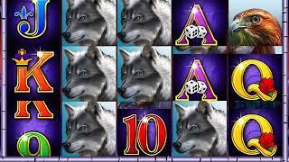 WINNING WOLF Video Slot Casino Game with a WINNING WOLF FREE SPIN BONUS