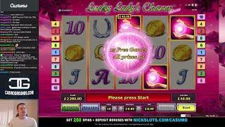 Casino Slots Live - 16/02/18 *Bonus Hunt*