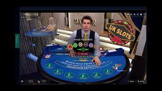 Live Online Blackjack #6 - Progressive High Stakes. Good profit!!