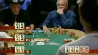 View On Poker - Doyle Brunson Throws Away Pocket Queens