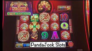 First spin bonus•️Then things got even better•️Big wins on Tree of Wealth slot