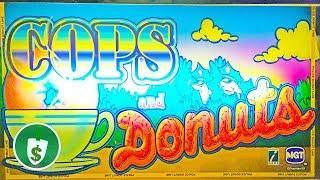 Cops and Donuts slot machine, bonus