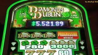 Live Play - BIG WIN - DIAMOND DUBIN  Slot Machine @ San Manuel Casino, カリフォルニア カジノ, 赤富士, アカフジ スロット