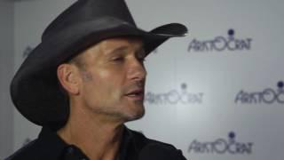Tim McGraw Slot Machine Reveal at G2E
