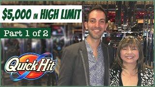 $5,000 HIGH LIMIT Group Pull • Part 1 of 2 • with Vegas Fanatics