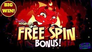 BIG WIN! - Devils & Pitchforks - Max Bet Bonus