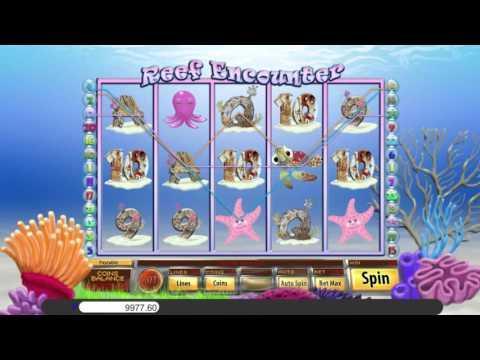 Free Reef Encounter slot machine by Saucify gameplay ★ SlotsUp