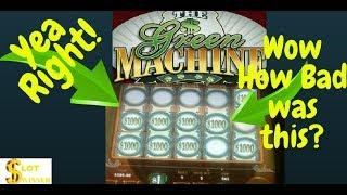 Has Anyone Won Money on this Game? GREEN MACHINE DELUXE