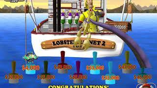 LOBSTERMANIA 2 Video Slot Casino Game with a LUCKY LARRY'S BUOY BONUS