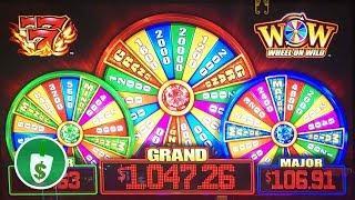 •️ NEW -  WOW Wheel On Wild slot machine, bonus