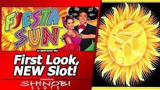Fiesta Sun Slot - Free Spins Bonus in First Look at New Cash Explosion game