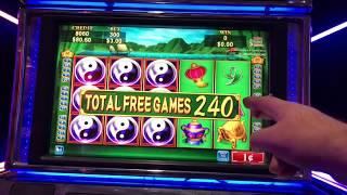CHINA SHORES 500 FREE GAMES JACKPOT HANDPAY free games or credit prize? WHATS BETTER ?
