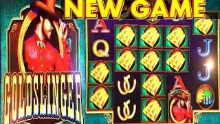 • HOT NEW GAME • GOLDSLINGER $5 MAX BET LIVE PLAY | BONUS & JACKPOTS