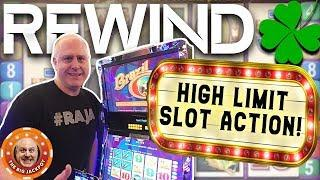 •ACTION PACKED! •High Limit Slot Play •REWIND! HUGE JACKPOT$! | The Big Jackpot