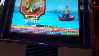Reel Em in Catch the Big One Slot machine bonus Max Bet