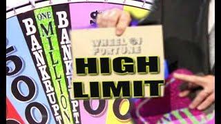 •JACKPOT • WHEEL OF FORTUNE HIGH LIMIT SLOT MACHINE HANDPAY