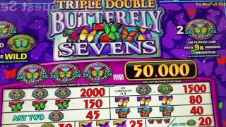 Free Play•Double Four Times Pay & Triple Double Butterfly $1 Slot Machine @ San Manuel Casino