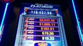 Quick Hit Platinum Slot Machine Bonus Max Bet & Retrigger