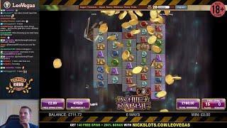 Casino Slots Live - 26/10/17 *White Rabbit... Hmm*