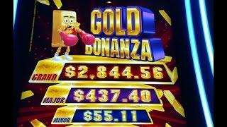NO RECORDING! BIG WIN! NEW GAME Gold Bonanza Aristocrat Slot machine Like Lightning Link