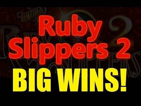 BIG WINS RUBY SLIPPERS 2 Best of Ruby Slippers 2 Slot Machine Bonus DProxima