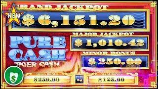 •️ NEW - Pure Cash Tiger Cash slot machine