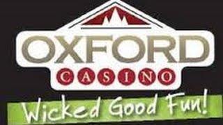 **JACKPOT! HUGE Winner!** Spin-O-Rama promo at Oxford Casino!