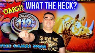 112 Free Games On High Limit Wonder 4 Boost Slot ! 1,000 Challenge To Beat The Casino | EP-29