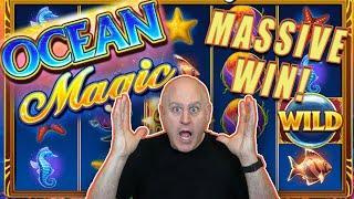 ⋆ Slots ⋆ Big Bubble Wild Jackpots on Ocean Magic Grand ⋆ Slots ⋆ High Limit IGT Slots!