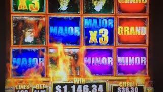 Awesome! Super Big Win!! MAJOR x3•Walking Dead 2 Slot Bet$1.50 Live Play at Harrah's CA