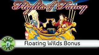 Flights of Fancy slot machine, Floating Wilds Bonus