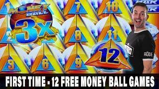 ★ Slots ★ FIRST! ★ Slots ★ Major Money Ball Bonus ★ Slots ★ Crazy 10X Multiplier Backup Spin ★ Slots