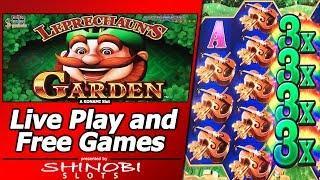 Leprechaun's Garden Slot - Live Play and Free Spins Bonuses