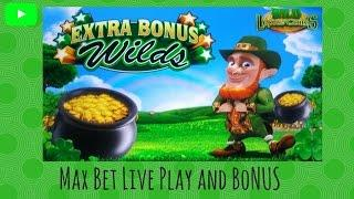 Aristocrat - Wild Lepre Coins : Max Bet Bonus and Live Play